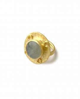 Кольцо с камнем Rena 9
