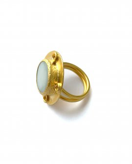 Кольцо с камнем Rena 1