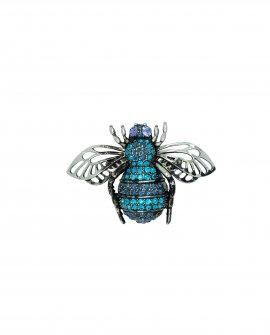 Брошь-кулон муха 23
