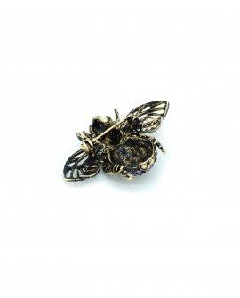 Брошь-кулон муха 22