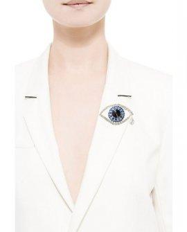 Брошь Blue Eye
