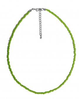 Чокер из зеленого бисера