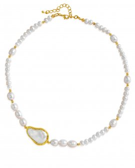 Ожерелье из жемчуга с барочной жемчужиной
