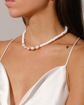 Ожерелье из жемчуга White the Pearl