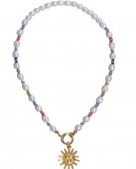 Ожерелье со съёмной подвеской Sun