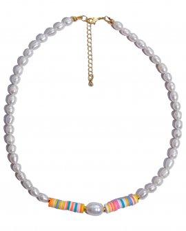 Ожерелье из жемчуга White the Colore