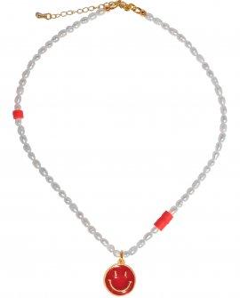Ожерелье из жемчуга Smile Red