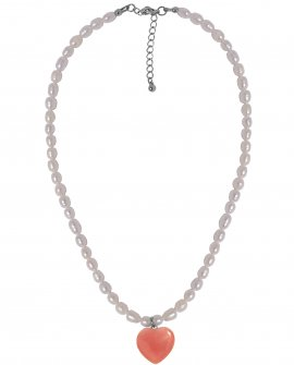 Ожерелье с жемчугом и подвеской H-Naturale 4 S