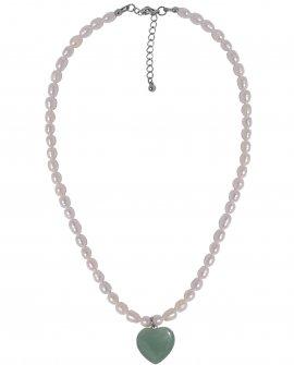 Ожерелье с жемчугом и подвеской H-Naturale 3 S