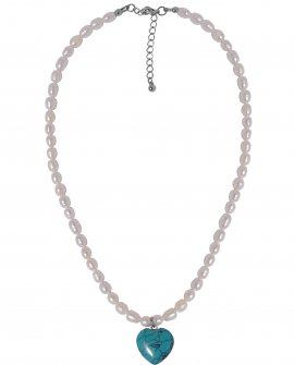 Ожерелье с жемчугом и подвеской H-Naturale 1 S
