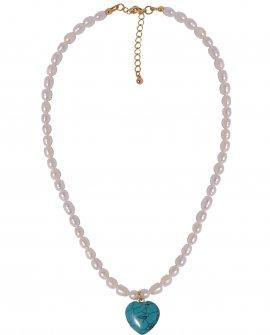 Ожерелье с жемчугом и подвеской H-Naturale 1 G