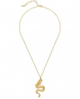 Цепочка с маленьким кулоном DRAGON GOLD