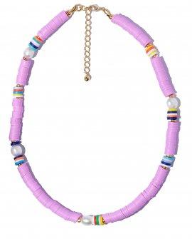 Ожерелье из жемчуга Purple Ocean S