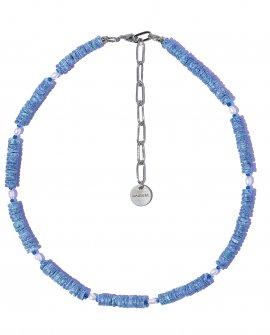 Колье Collare-Pearl BLU