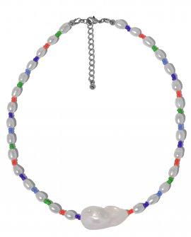 Ожерелье с крупной жемчужиной Color SNB