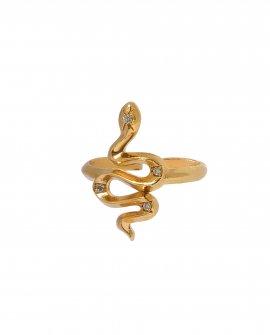 Кольцо Snake Crystal