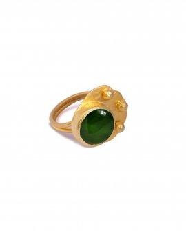 Кольцо с камнем Rena 4