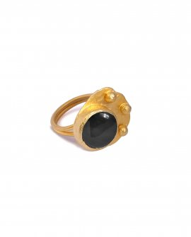 Кольцо с камнем Rena 8
