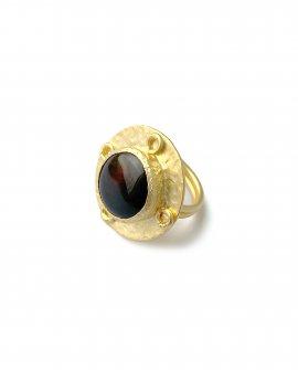 Кольцо с камнем Rena 7