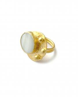 Кольцо с камнем Rena 5