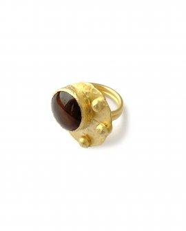 Кольцо с камнем Rena 3