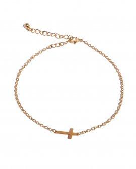 Анклет-цепочка с крестиком