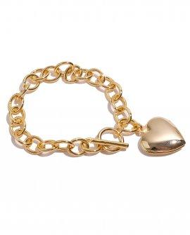 Браслет-цепь с сердечком Iris G