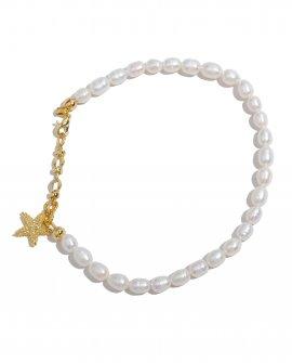 Анклет с жемчугом Starfish