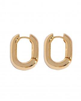 Серьги-кольца Pent G