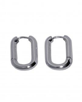 Серьги-кольца Pent S
