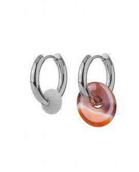 Серьги-кольца с подвесками Basic 30-S 5