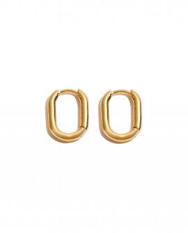Серьги-кольца Penta mini g