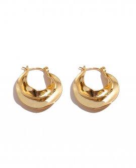 Серьги-кольца Popur G